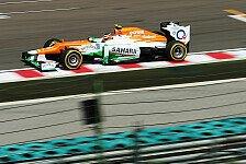 Formel 1 - Halbzeitbilanz: Force India