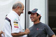 Formel 1 - Kobayashi sieht Schumacher nicht bei Sauber