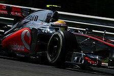 Formel 1 - Hamilton: Kurve eins wird entscheidend