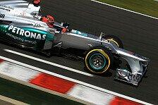 Formel 1 - Schumacher fände Comeback ohne Sieg schade
