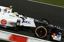 Formel 1 - Perez sieht Zukunft bei Sauber