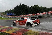 Blancpain GT Serien - 24 Stunden Spa: Dreifach-Führung für Audi