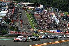Blancpain GT Serien - Spa: Komplette Starterliste veröffentlicht