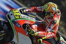 MotoGP - Front-Rutscher erwischt Rossi eiskalt
