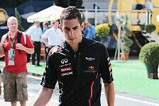 Formel 1 - Buemi 2013 wieder mit Stammcockpit?