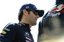 Formel 1 - Webbers Strategie ging nicht auf