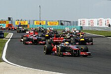 Formel 1 - Rennen: Hamilton holt knappen Sieg in Ungarn