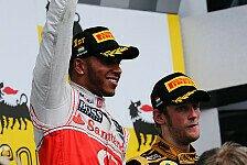 Formel 1 - Hamilton zollte Lotus Respekt