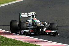 Formel 1 - Sauber freut sich auf die schnellen Kurven