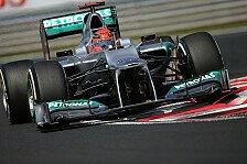 Formel 1 - Schumacher: 300. GP in seinem Wohnzimmer