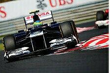 Formel 1 - Williams zieht Entwicklung bis Saisonende durch