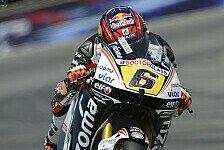 MotoGP - Bradl kämpft mit dreckigem Asphalt
