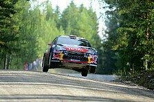 WRC - Finnland: Loeb übernimmt die Führung