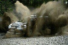 WRC - Loeb übernachtet mit Finnland-Führung