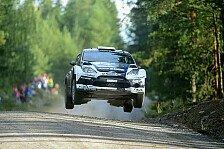 WRC - Latvala bekam Setup-Probleme in den Griff