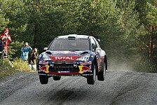 WRC - Loeb übernachtet erneut mit Finnland-Führung