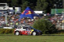 WRC - Finnland: Loeb führt, Hirvonen fällt zurück
