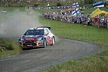 WRC - Finnland: Loeb weiterhin in Front