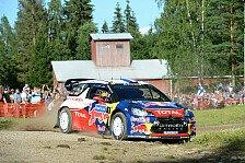 WRC - Finnland: Hirvonen rückt Loeb auf die Pelle
