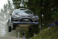 WRC - Tanak geht in Deutschland vorsichtig zu Werke