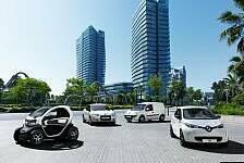 Auto - Renault Nr. 1 bei batteriebetriebenen Fahrzeugen