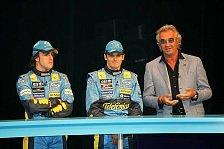 Formel 1 - Briatore: Die Ferrari-Fahrer sollten gegeneinander kämpfen