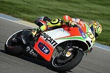 MotoGP - Rossis Problem waren Hitze und Linkskurven