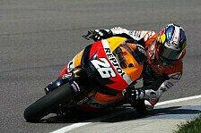 MotoGP - Pedrosa in 1. Brünn-Training vor Lorenzo