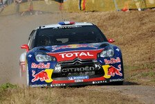 WRC - Loeb in Front, Solberg und Latvala dahinter