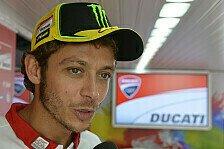 MotoGP - Neuer Rahmen und neue Schwinge für Rossi