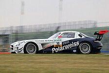 ADAC GT Masters - Polarweiss-Mercedes vor zweitem Heimspiel