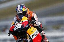MotoGP - Pedrosa kämpft sich in Reihe eins