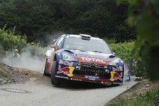 WRC - Loeb vor neuntem Triumph in Deutschland