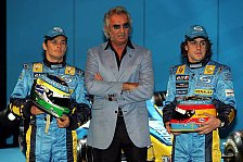 Formel 1 - Flavio Briatore: Sehr hohe Erwartungen an sein Fahrergespann
