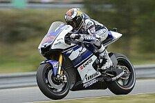 MotoGP - Lorenzo toppt das Warm-Up