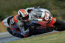 MotoGP - Pasini stürzt in der Hälfte des Qualifyings