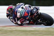 Moto2 - Espargaro wärmt am schnellsten auf