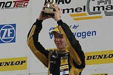 ADAC Formel Masters - Jeffrey Schmidt feiert Premierensieg