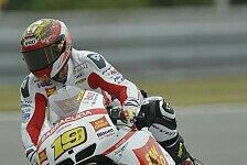 MotoGP - Strahlende Gesichter in der Gresini-Box