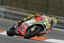 MotoGP - Regen für Rossi und Hayden ärgerlich