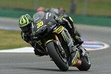 MotoGP - Crutchlow startet von Platz drei