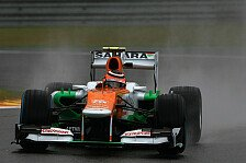 Formel 1 - Kaum Erkenntnisse bei Force India