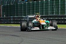 Formel 1 - Hülkenberg hatte mit Top-10 gerechnet