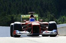 Formel 1 - Alonso schließt Sieg in Spa aus