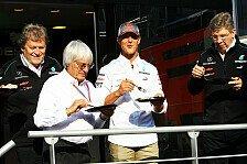 Formel 1 - Rücktritt? Schumacher korrigiert Ecclestone