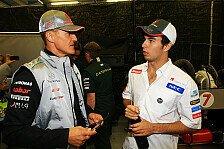 Formel 1 - Schumacher: Man muss Fehler zugestehen