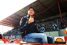 Formel 1 - Vettel von den Reifen überrascht