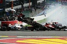 Formel 1 - Nach Startcrash: Grosjean erhält Rennsperre