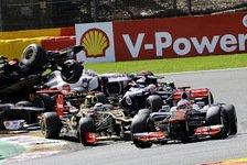 Formel 1 - Grosjean akzeptiert Rennsperre für Monza