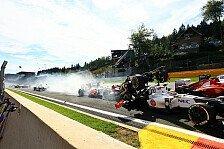 Formel 1 - Hamilton: Schaut euch den Unfall selbst an